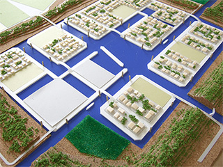 Low density floating village (Arahama Project)